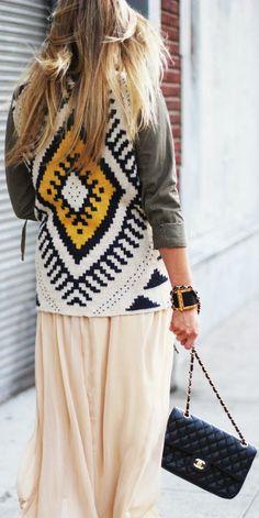 Nyfw: Dresses & Tribal Jackets  by Devon Rachel