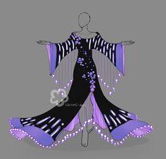 Fantasy Dress #2 - Auction open by Nahemii-san on DeviantArt