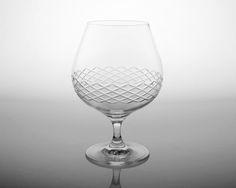 Brandy Monogrammed Glasses from eThoughtfulThings.com