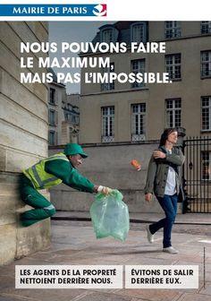 Nouvelle campagne de pub de Paris