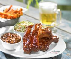 BBQ Baby Back Ribs @ Seafood Shack