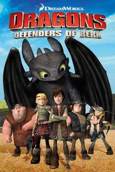 Dragons Defenders of Berk - Official Poster
