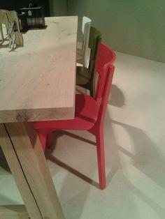 Ingrid chair, design Luc Vincent