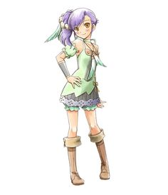 Odette from Rune Factory: Tides of Destiny- she is the leader of the sisters, very outgoing and quite cute.