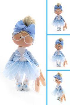 Nursery Fabric Doll, Tilda Cloth Doll, Soft Blue Doll, Textile Gift Doll Bambole di stoffa Portrait Art Doll Baby Room Rag Doll by Natalia P Fashion Shop Interior, Nursery Fabric, Gifts For Mum, Baby Crafts, Fabric Dolls, Handmade Toys, Doll Patterns, Art Dolls, Dolls Dolls