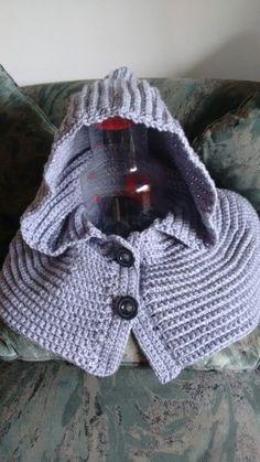 Para los días fríos Capucha a crochet