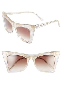 0eef5253be91 Women s Wildfox  Ivy  55mm Sunglasses - Gold Glitter from Nordstrom on  Catalog Spree Clubmaster
