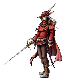 Dissidia: Red Mage of Light by ~isaiahjordan on deviantART
