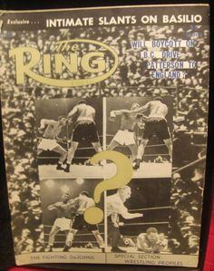 D-Amato Reveals All, vintage boxing magazines now on sale