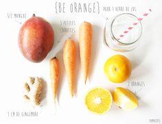 Jus {Be Orange} #végétal #vegan