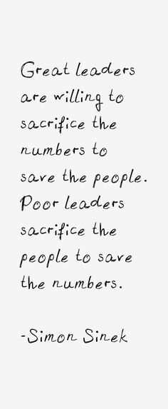 leadership quote simon sinek quotes google search