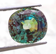 Fine cutting, superior brilliance, and excellent clarity Indian Alexandrite cushion weighing 3.09 cts
