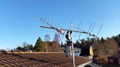 SM0TGU Tracking satellite antennas