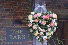 Farnham Florist creating amazing wedding flowers for your wedding. Wedding Door Wreaths, Wedding Doors, Wedding Table, Our Wedding, Wedding Bouquets, Wedding Flowers, Wedding Themes, Wedding Ideas, Alchemilla Mollis