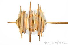 thumbs.dreamstime.com x sound-wave-broken-wooden-drumsticks-white-pieces-old-used-shape-background-67660086.jpg