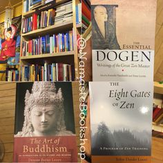 A whole section dedicated to books on Buddhism