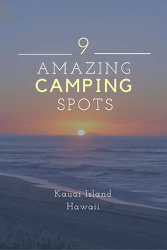 Spectaular camping on #Kauai