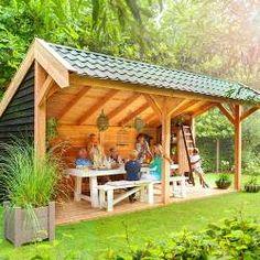 Pergola Kit Home Depot Gazebo, Pergola With Roof, Outdoor Pergola, Outdoor Rooms, Outdoor Gardens, Outdoor Living, Backyard Pavilion, Backyard Patio Designs, Backyard Retreat