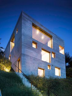 New Concrete House; S.Abbondio, Switzerland - WESPI DE MEURON ROMEO ARCHITECTS