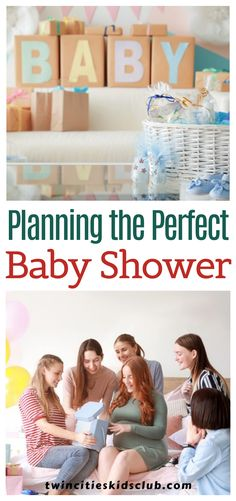 Twin Cities Kids Club Blogs: Planning the Perfect Baby Shower - The birth of a new baby is always worth celebrating! If you have the chance to plan a baby shower for an expectant mother, you might be feeling excited and a little overwhelmed. With some help, you can pull off a baby shower that everyone will love, while also maintaining your sanity! #babyshower  #babyshower planning #babyshowerideas #perfectbabyshower #homecelebration