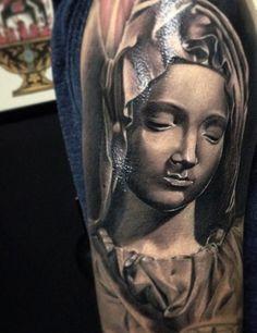 Tattoo-Foto: Heilige Maria