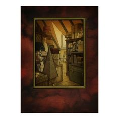 The Secret Box Room Art Print