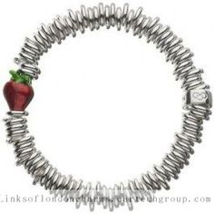 http://linksoflondoncharms.cartechgroup.com/ Cheap Links Of London Red Silver Bracelet 001 Onlinesales