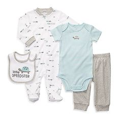 Carter's® Turtle 4-Piece Layette Outfit Set