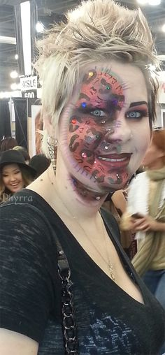 Leopard Zombie? Awesome AND sassy!