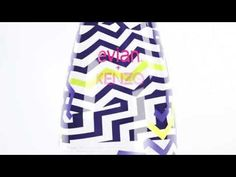 Evian and Kenzo have teamed up to create a one-of-a kind design for Evian Water. The water is a direct reflection of Kenzo's aesthetic with a lively zig zag pattern. A blue and yellow optical illusion that merges packaging design with fashion. Custom Packaging, Brand Packaging, Packaging Design, Fashion Packaging, Product Packaging, Kenzo, Article Of The Week, Limited Edition Packaging, Cardboard Packaging