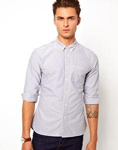 ASOS Oxford Shirt in Long Sleeve $36