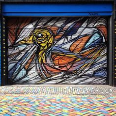 DZIA KRANK Quick abstract Shutter in #amsterdam