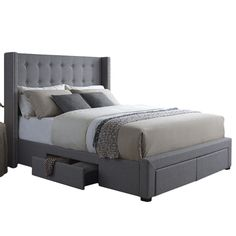 You'll love the Savoy Storage Platform Bed at Wayfair - Great Deals on all Furniture  products with Free Shipping on most stuff, even the big stuff.