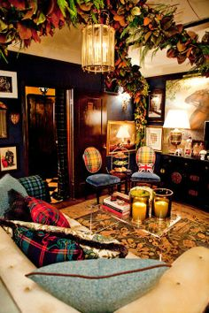 Plush Palate: DECK THE HALLS WITH SCOT MEACHAM WOOD!