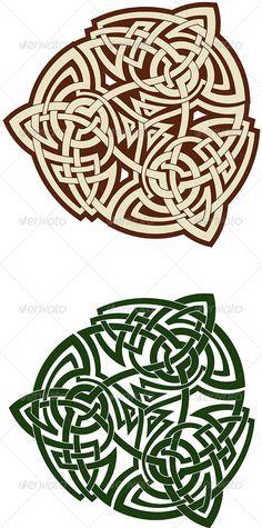 Celtic Triskell — JPG Image #celtic #white • Available here → https://graphicriver.net/item/celtic-triskell/3516282?ref=pxcr