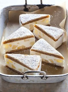 Ricotta and Pear Cake from Southern Italian Desserts