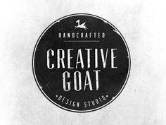 Creative Goat Vintage Logo Design Inspiration