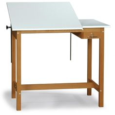 SMI Pacific Split Top Drafting Table with Storage - Drafting & Drawing Tables at Hayneedle