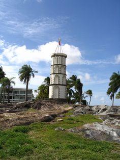 Abandoned Devil's Island Prison , French Guiana.