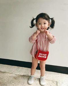 Cutest Asian girl fashion baby toddler