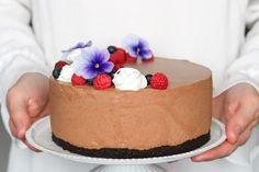 Suklaajuustokakku - Ruoka & Koti Koti, Oreo, Baking, Cake, Desserts, Tailgate Desserts, Deserts, Bakken, Kuchen