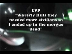Scary Truth about Waverly Hills (Paranormal Reality)