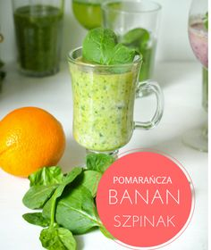 smoothie banan i szpinak Smoothie Detox, Smoothie Drinks, Healthy Smoothies, Ginseng Tea, Breakfast Options, Fruits And Veggies, Drinking, Health Fitness, Cocktails