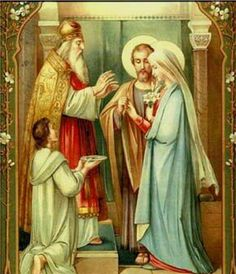 The Marriage of Our Lady and St.Joseh