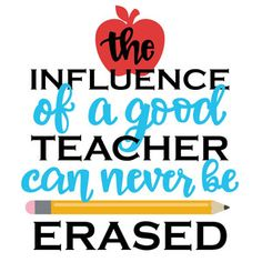 This phrase thanks all those special teachers out there!