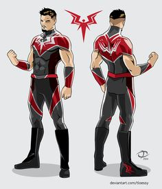 Icarus Re-Create-a-Wrestler submission by Tloessy on DeviantArt Character Drawing, Comic Character, Character Concept, Super Hero Outfits, Super Hero Costumes, Superhero Characters, Fantasy Characters, Whyt Manga, New Superheroes