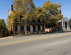 The Mary Todd Lincoln House in Lexington, Kentucky was the family home of the future wife of the 16th President.