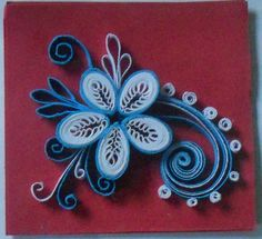 Quilling: Mini Card Flower by staceysmile on DeviantArt
