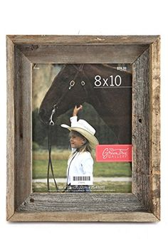 Green Tree Gallery Reclaimed Natural Barn Wood Picture Frame, for an 8 x 10 inch Photo * Want additional info? Click on the image. (This is an affiliate link and I receive a commission for the sales)