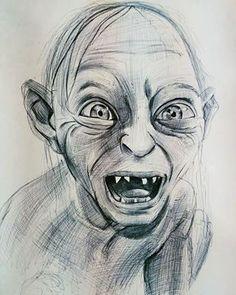 Kaydettiklerim Creepy Drawings, Pencil Art Drawings, Art Drawings Sketches, Disney Drawings, Portrait Sketches, Pencil Portrait, Harry Potter Sketch, Art Du Croquis, Drawing Journal